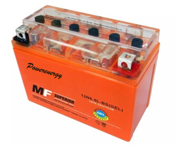 GEL High Performance Motorcycle Battery